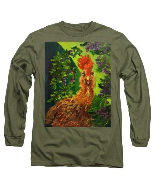 Bobbies Fermented Grapes   90 Long Sleeve T-Shirt