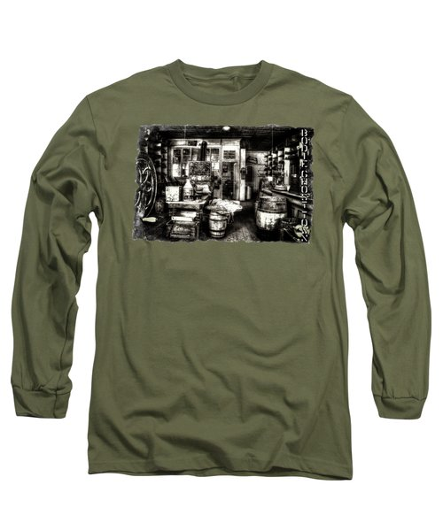 Bodie Ghost Town General Store Long Sleeve T-Shirt