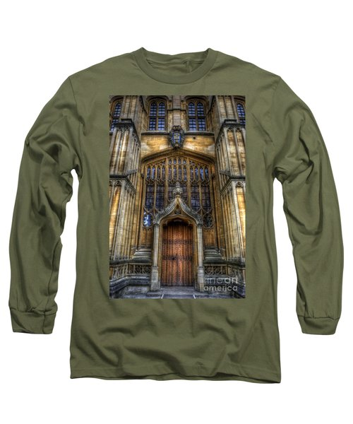 Bodleian Library Door - Oxford Long Sleeve T-Shirt