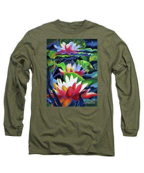 Bold Lilypads Long Sleeve T-Shirt
