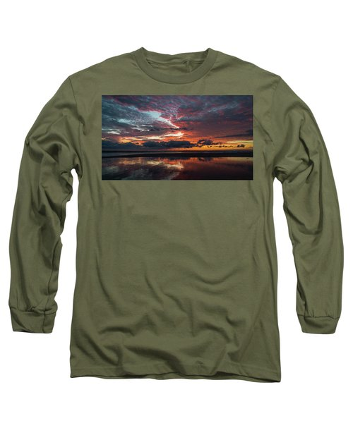 Bold Sunrise Delray Beach Florida Long Sleeve T-Shirt