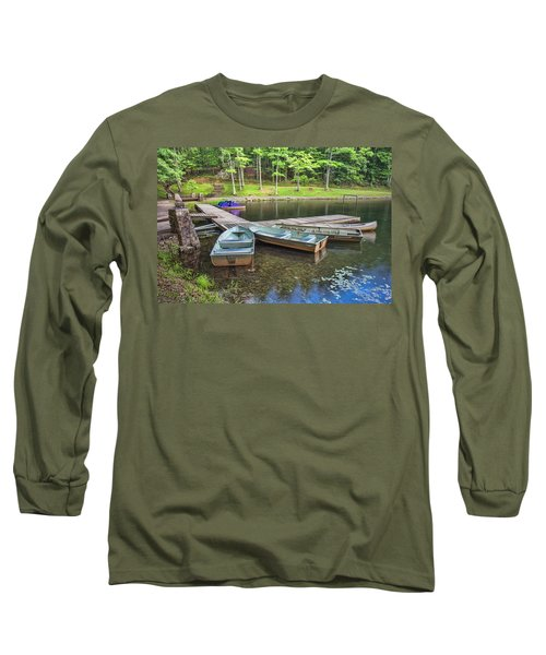 Boley Lake Long Sleeve T-Shirt by Mary Almond