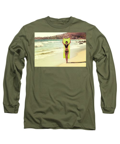 Bond Girl Laguna Beach Long Sleeve T-Shirt
