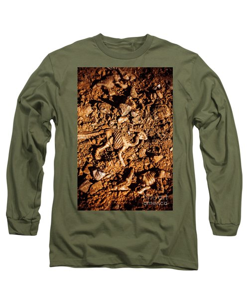 Bones From Ancient Times Long Sleeve T-Shirt