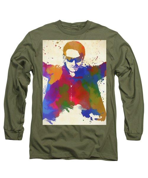 Bono Watercolor Long Sleeve T-Shirt