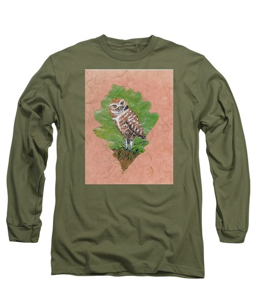 Borrowing Owl Long Sleeve T-Shirt by Ralph Root