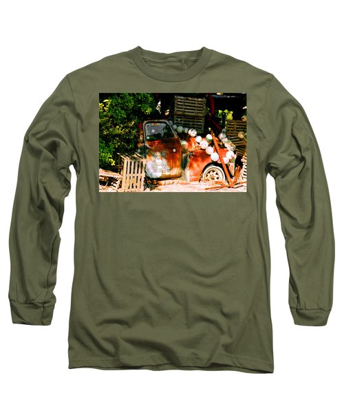 B.o.'s Fish Wagon In Key West Long Sleeve T-Shirt