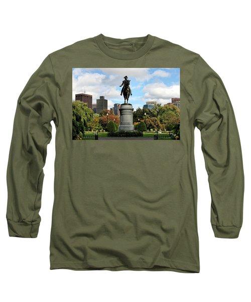 Boston Common Long Sleeve T-Shirt by DJ Florek