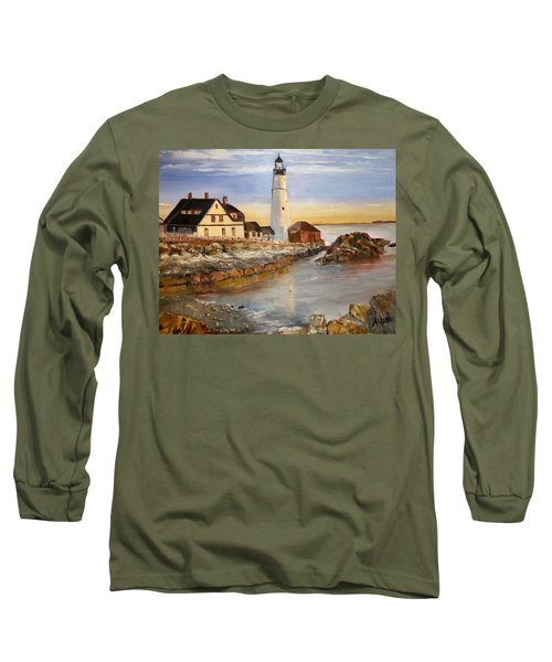 Boston Rocky Coast Long Sleeve T-Shirt