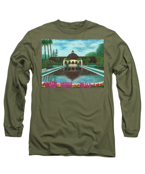 Botanical Building In Balboa Park 02 Long Sleeve T-Shirt