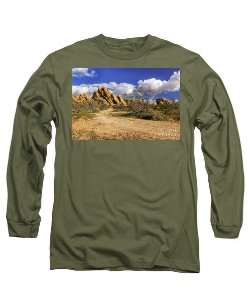 Boulders At Apple Valley Long Sleeve T-Shirt by James Eddy