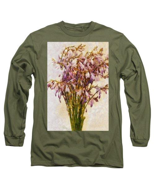 Bouquet Of Hostas Long Sleeve T-Shirt