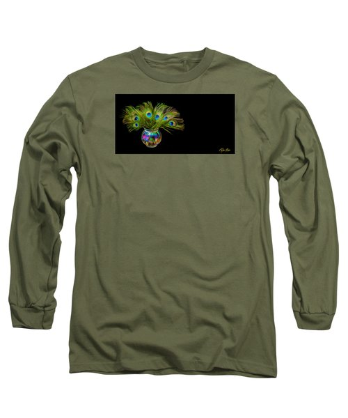 Bouquet Of Peacock Long Sleeve T-Shirt