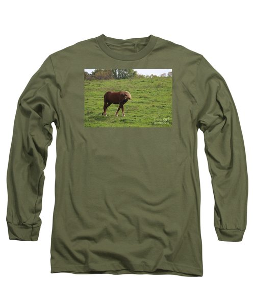 Bow  Long Sleeve T-Shirt by Yumi Johnson
