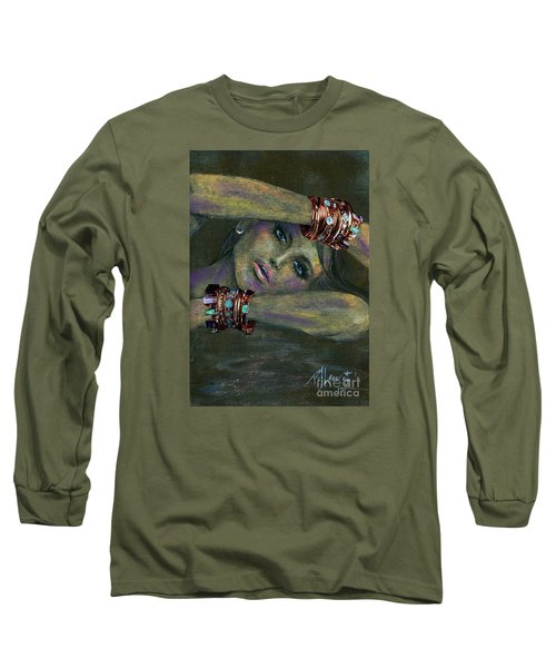 Bracelets  Long Sleeve T-Shirt by P J Lewis