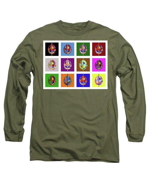 Brainbow Long Sleeve T-Shirt