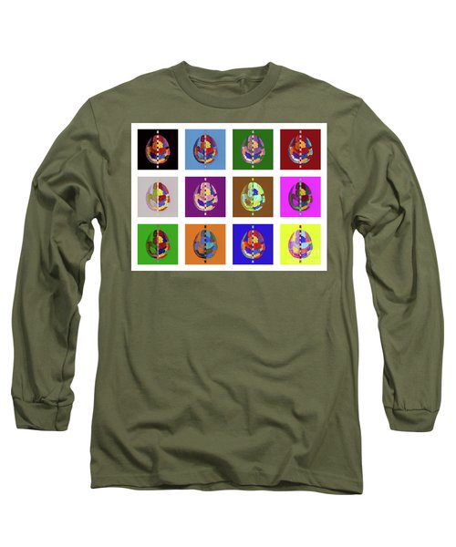 Brainbow Long Sleeve T-Shirt