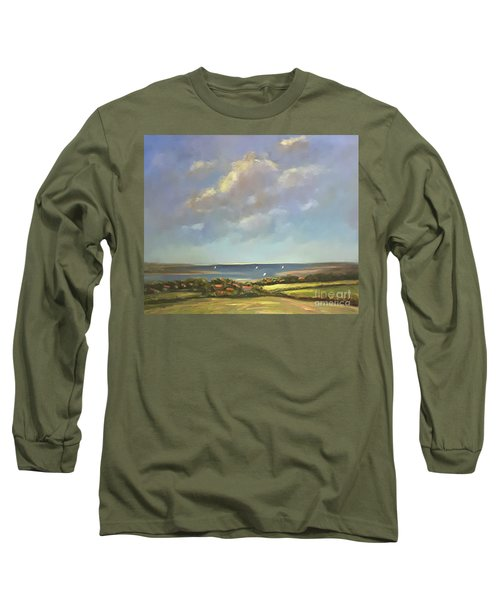 Brancaster Staithes, Norfolk Long Sleeve T-Shirt