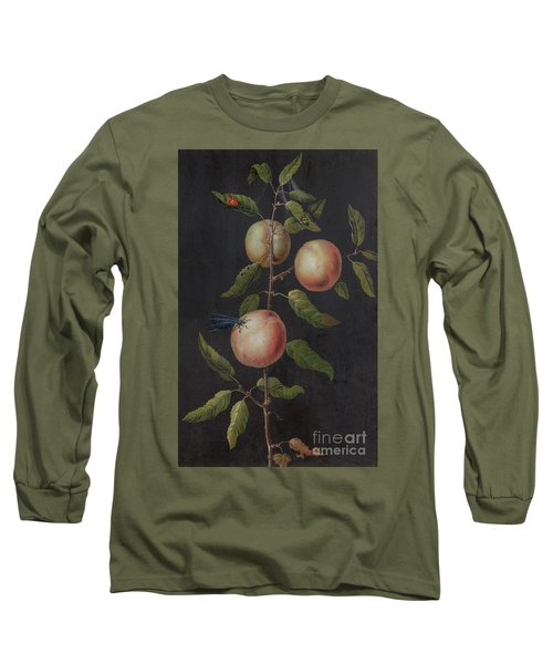 Branch Of A Pear Tree Long Sleeve T-Shirt