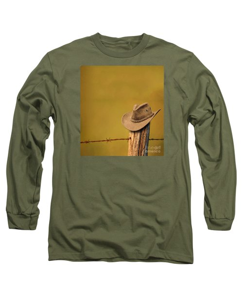 Branding Long Sleeve T-Shirt by Jim  Hatch