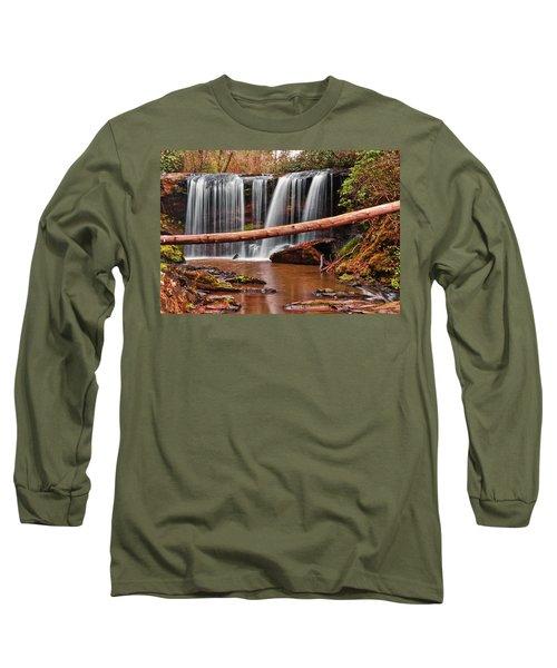 Brasstown Falls 002 Long Sleeve T-Shirt