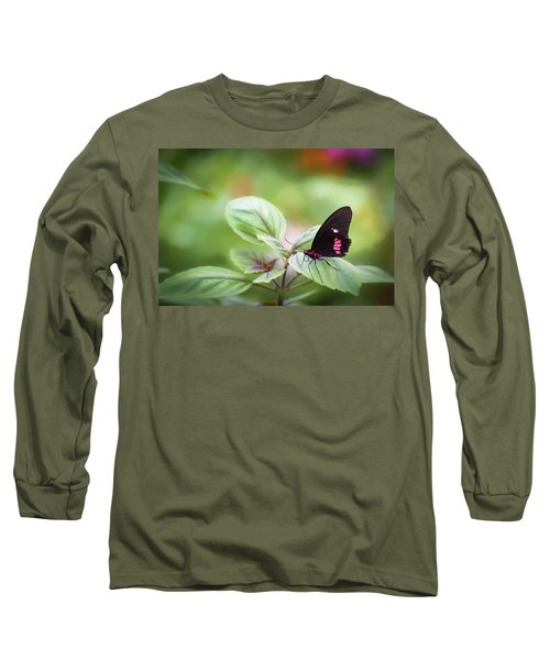 Brave Butterfly  Long Sleeve T-Shirt
