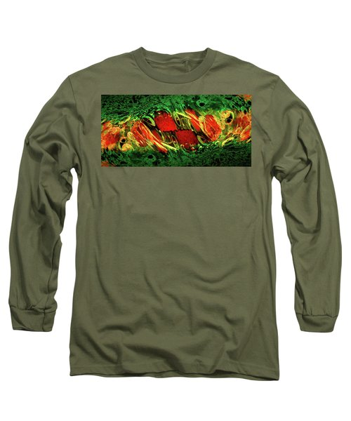 Breaking Out Abstract Long Sleeve T-Shirt