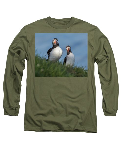 Breast Implants Humor Long Sleeve T-Shirt