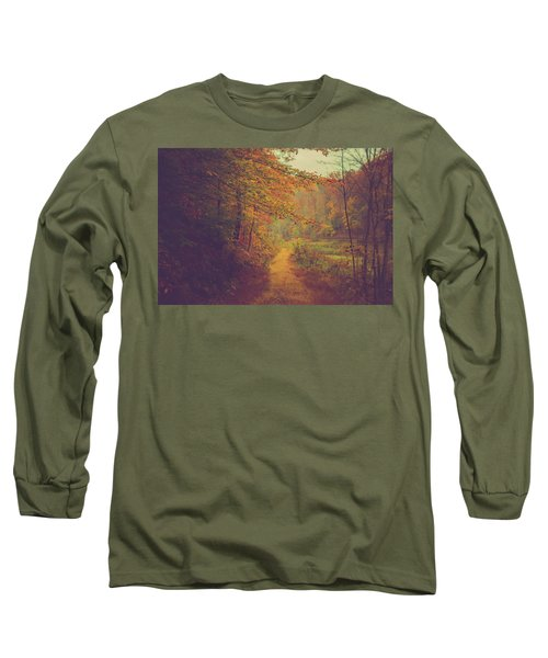 Long Sleeve T-Shirt featuring the photograph Breathe In Autumn by Shane Holsclaw