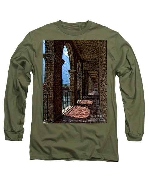 Breezway On The Baker Long Sleeve T-Shirt by Diana Mary Sharpton