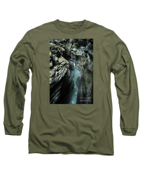 Breitach Gorge Oberstdorf 8 Long Sleeve T-Shirt