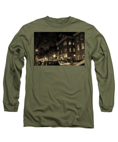 Long Sleeve T-Shirt featuring the photograph Market Street by Robert Geary