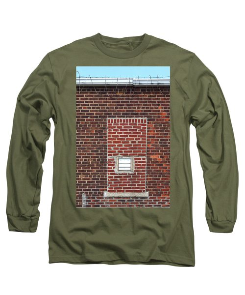 Brick And Barbed Wire Long Sleeve T-Shirt