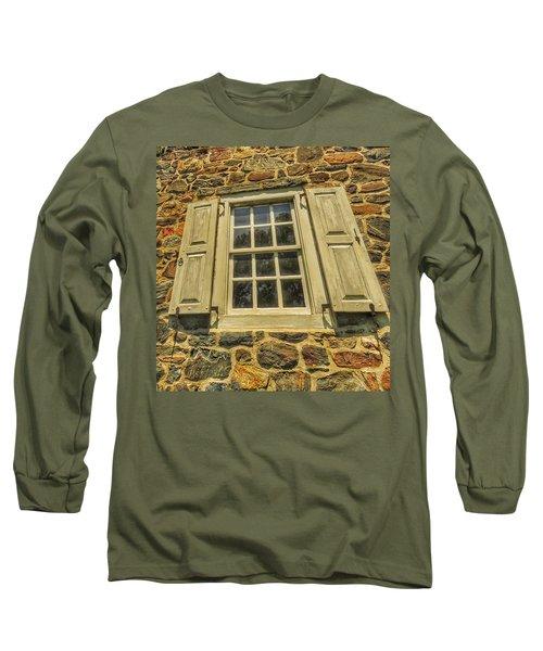 Bricks And Mortar I Long Sleeve T-Shirt