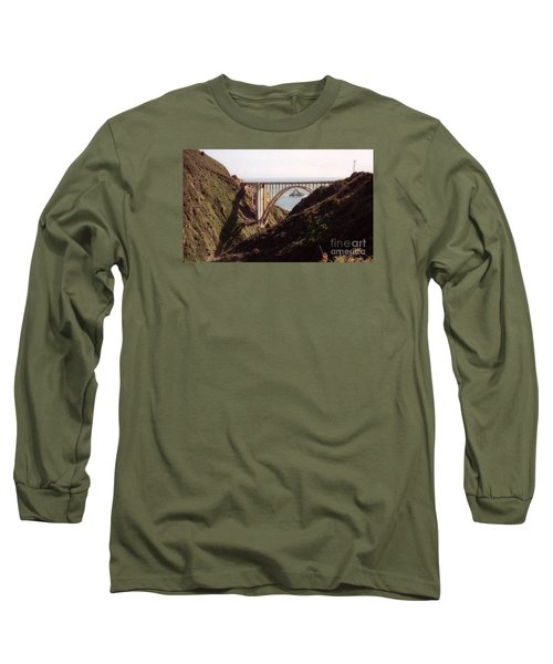 Bridge Highway 1 Coastal Road Long Sleeve T-Shirt