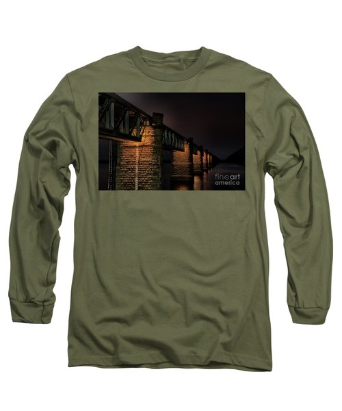 Bridge On Holy River Godavari Long Sleeve T-Shirt