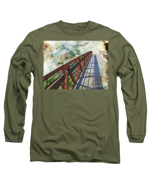 Bridge Over Clouds Long Sleeve T-Shirt