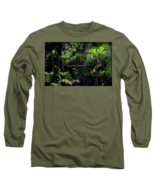 Bridge Over Nong Nooch Long Sleeve T-Shirt