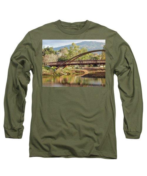 Bridge Over The Creek Long Sleeve T-Shirt