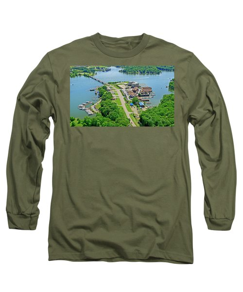 Bridgewater Plaza Aerial Long Sleeve T-Shirt
