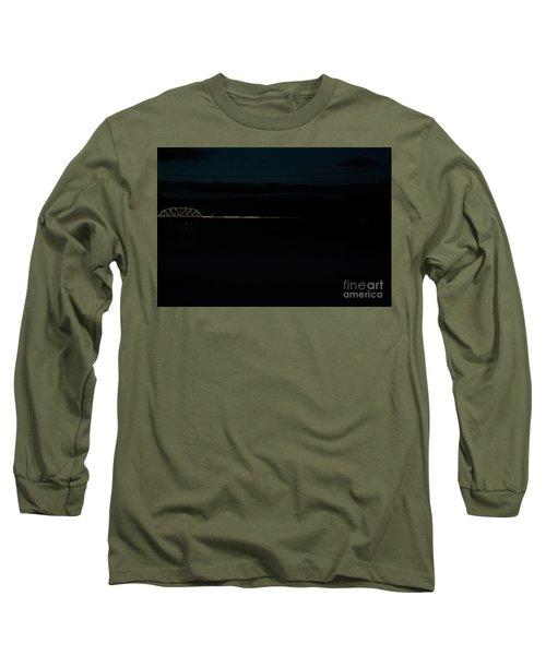 Bridging The Columbia River Long Sleeve T-Shirt