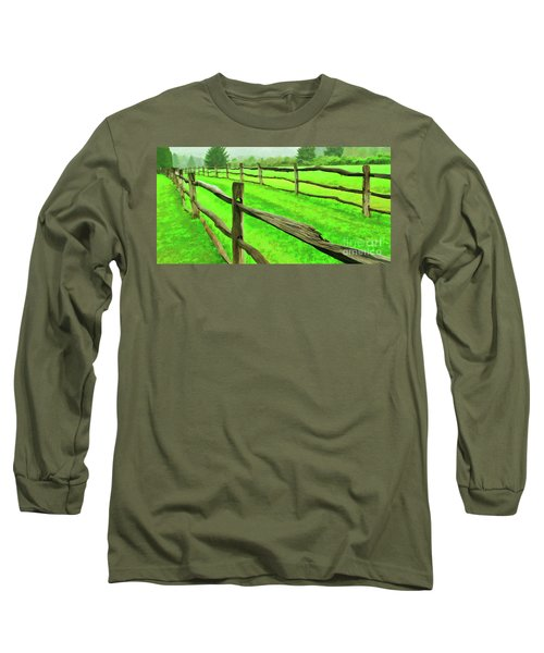 Bridle Trail Long Sleeve T-Shirt
