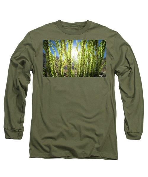 Bright Light In The Desert Long Sleeve T-Shirt