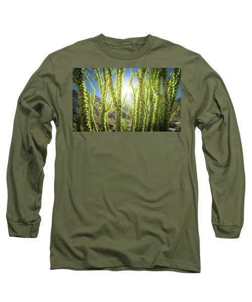 Bright Light In The Desert Long Sleeve T-Shirt