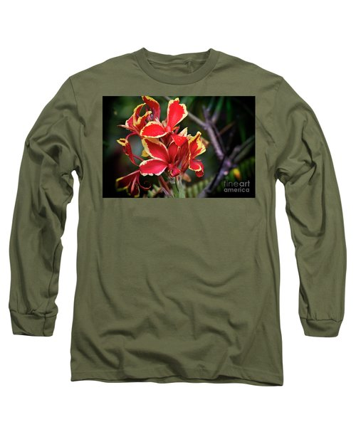 Long Sleeve T-Shirt featuring the photograph Bright Spot In My Day by Mary Machare