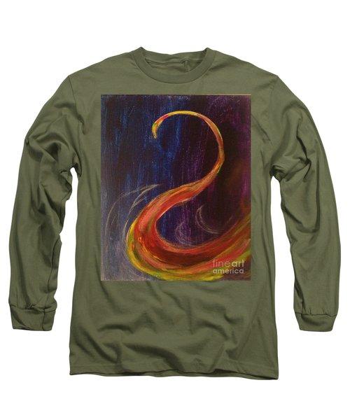 Bright Swan Long Sleeve T-Shirt