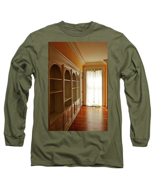 Long Sleeve T-Shirt featuring the photograph Bright Window by Zawhaus Photography