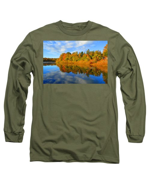 Brilliance Of Autumn Long Sleeve T-Shirt by Dianne Cowen
