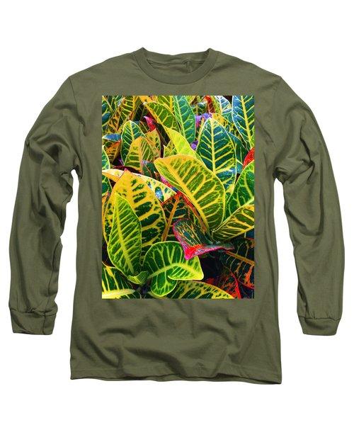 Brilliant Crotons Long Sleeve T-Shirt
