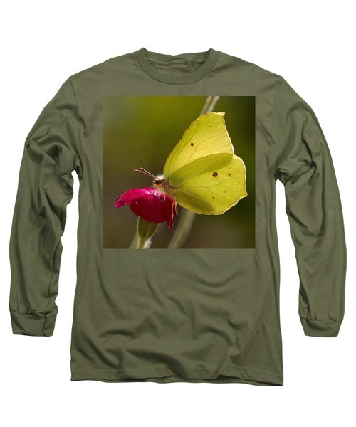 Long Sleeve T-Shirt featuring the photograph Brimstone 2 by Jouko Lehto
